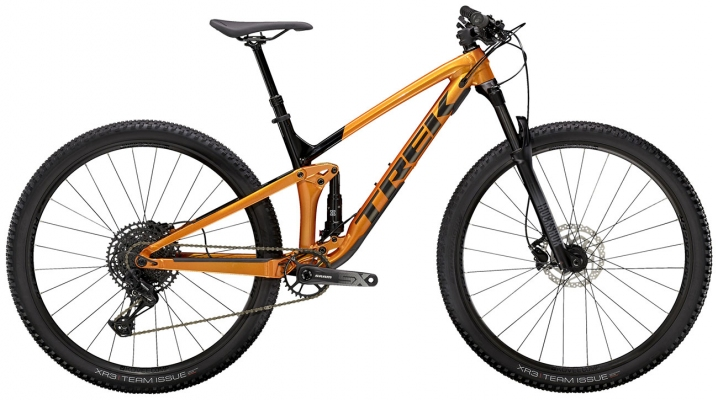 Велосипед Trek Top Fuel 7 SX (Orange/Black) 2021