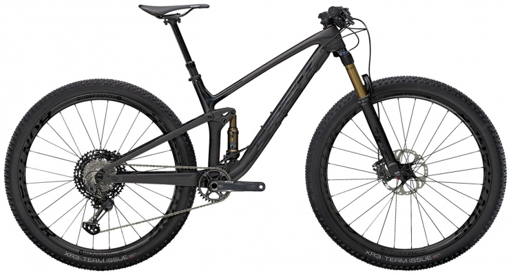 Велосипед Trek Top Fuel 9.9 XTR (Carbon/Black) 2021