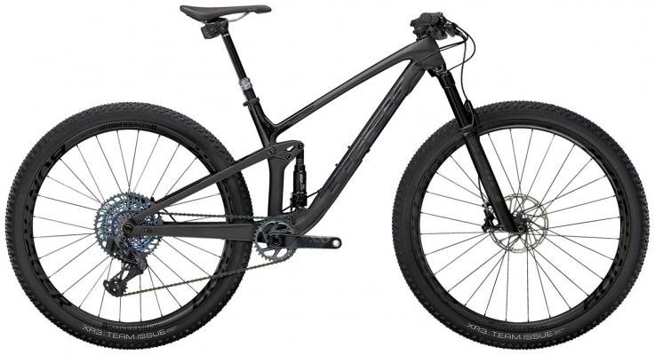 Велосипед Trek Top Fuel 9.9 XX1 AXS (Carbon/Black) 2021