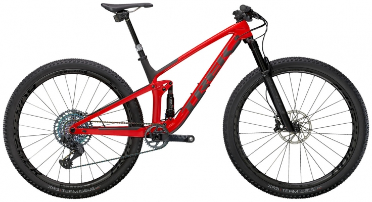 Велосипед Trek Top Fuel 9.9 XX1 AXS (Red/Carbon) 2021