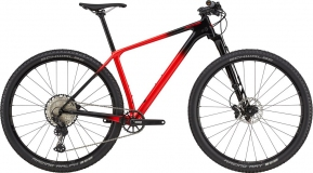 Велосипед Cannondale F-Si Carbon 3 (Red) 2021