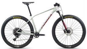 Велосипед Orbea Alma H10-Eagle 2021 White-Grey-Red