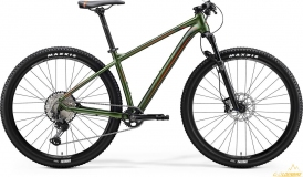 Велосипед Merida BIG.NINE XT-EDITION green 2020