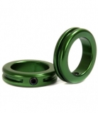 Замки на Грипсы STOLEN Lock Sand-blasted Green